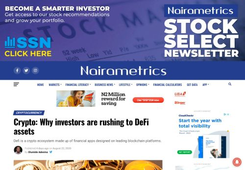 Why investors are rushing to DeFi assets