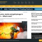 Bitcoin price, stocks and gold plunge in tandem