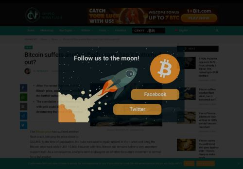Bitcoin suffers another flash crash, has it bottomed out