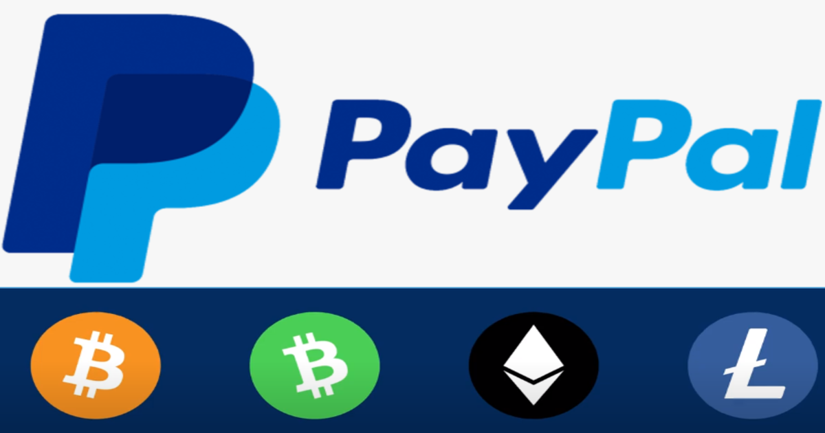 PayPal will start accepting Cryptocurrencies