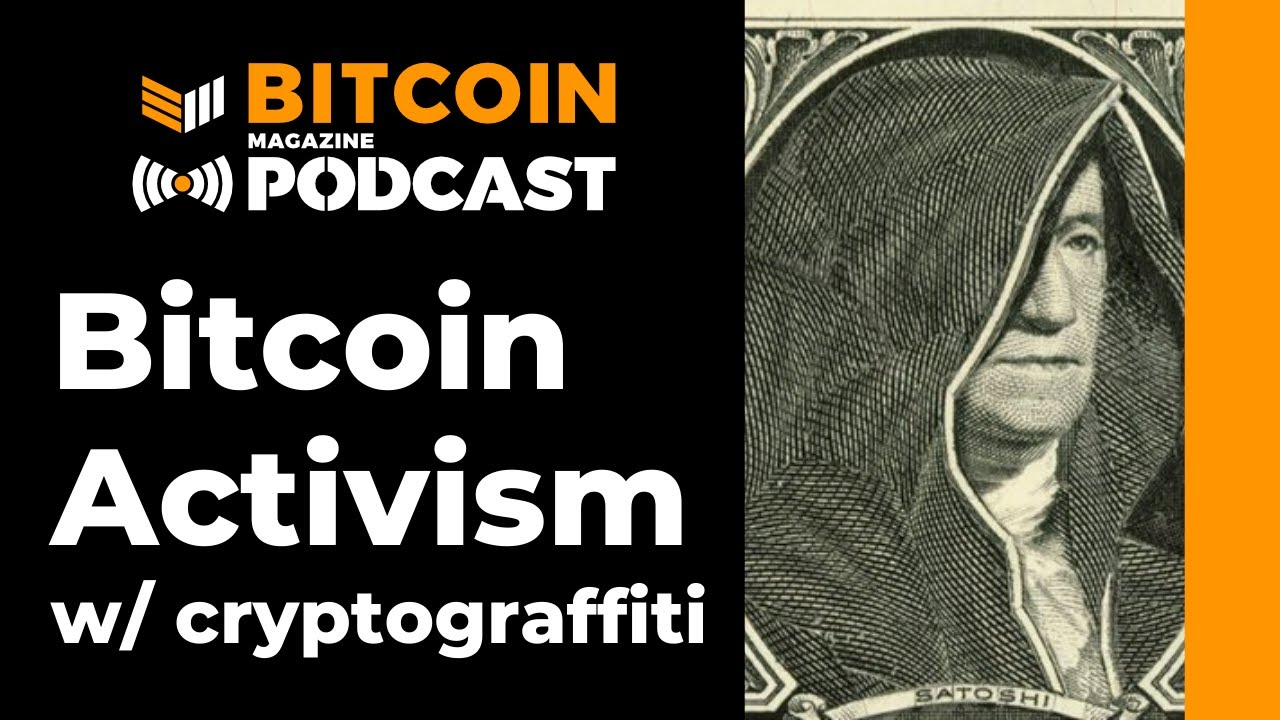 """Cryptograffiti On """"Bitcoin Vs. The Fed"""" – Bitcoin Magazine"""