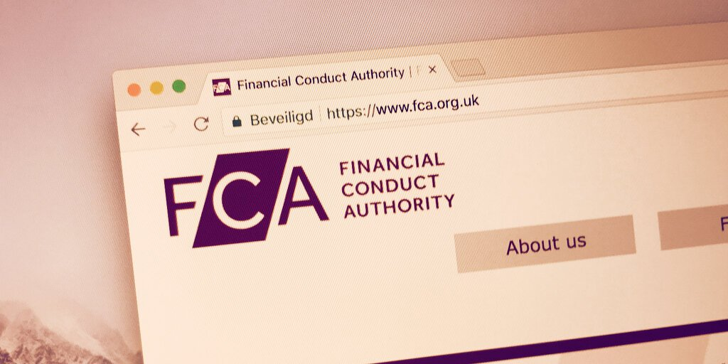 The FCA Has 5 Entirely Reasonable Concerns About Cryptocurrency - Decrypt