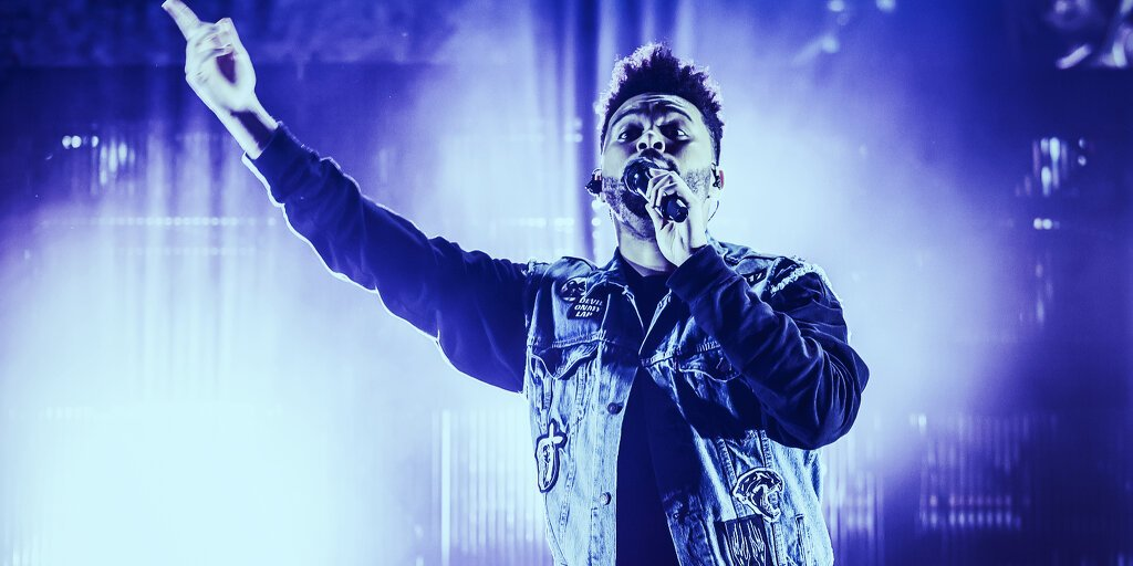 The Weeknd Clears Schedule for an NFT Mic Drop