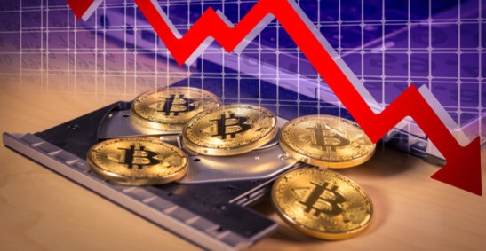 Bitcoin price declines 10% to touch $47,658