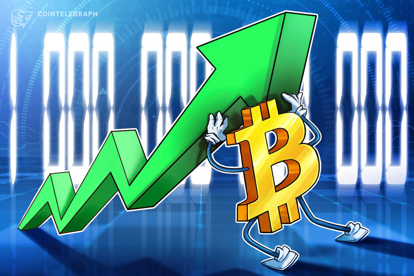Bitcoin's $1 trillion market holds for 10 days straight