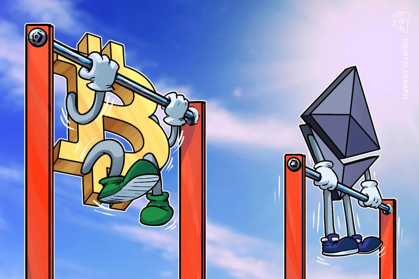 Bullish ETH/BTC pair revives the Ethereum 'flippening' discussion