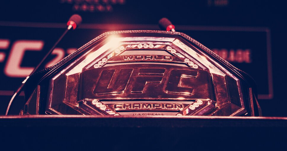 UFC Files Trademark for Cryptocurrencies