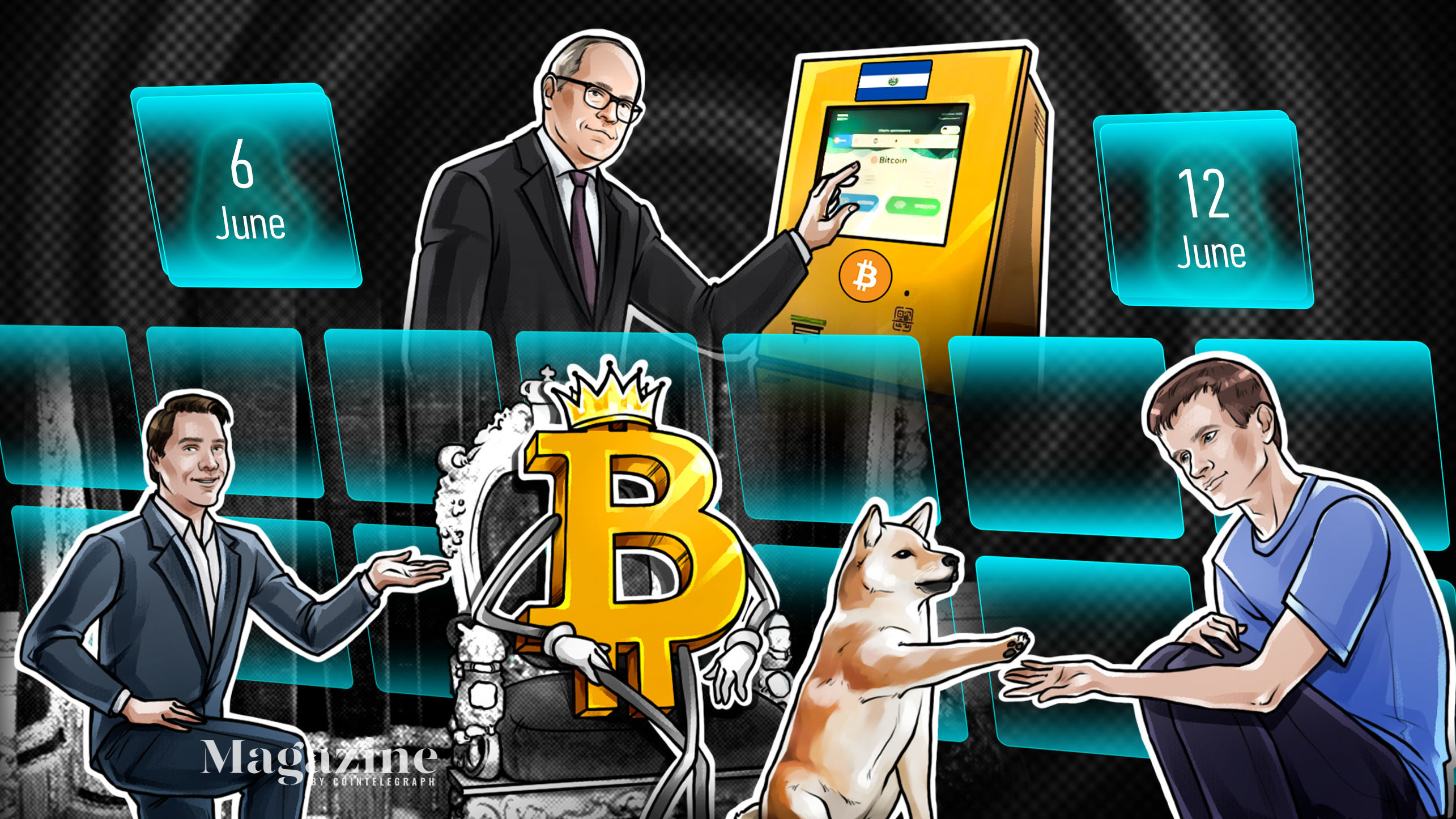 A new milestone for Bitcoin, COVID hits conference, Buterin's DOGE payday