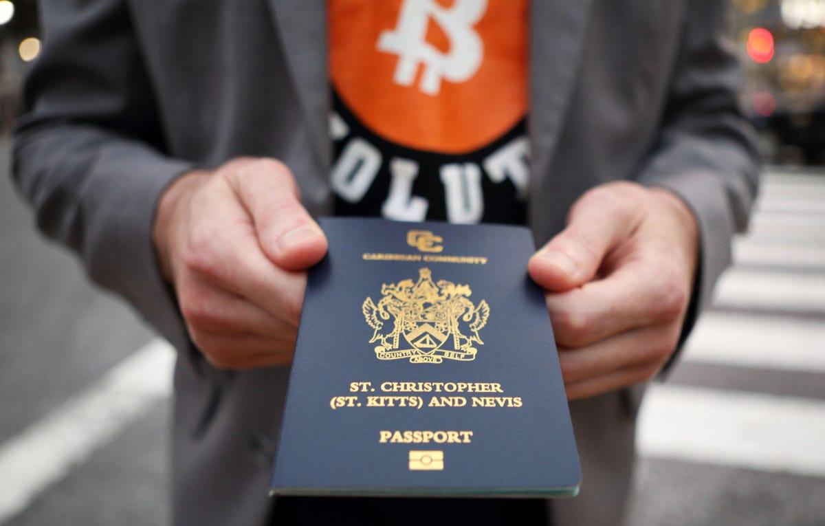 Buy Passport With Bitcoin, Escape Taxes?