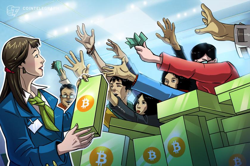 Bitcoin sell-off continues as BTC nears $31K ahead of Powell's speech