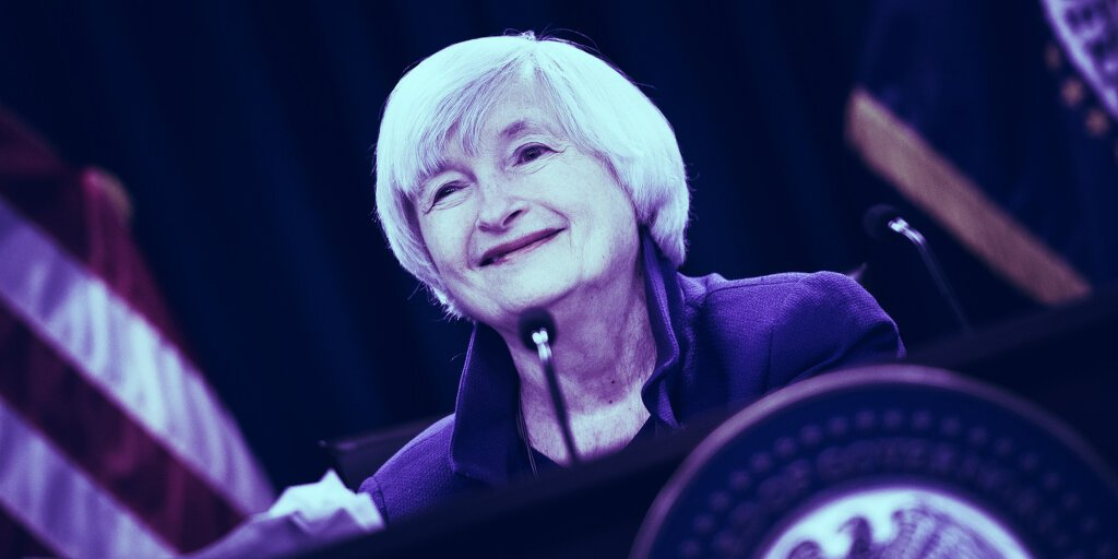 Yellen to Assemble Regulators Over Stablecoin Concerns