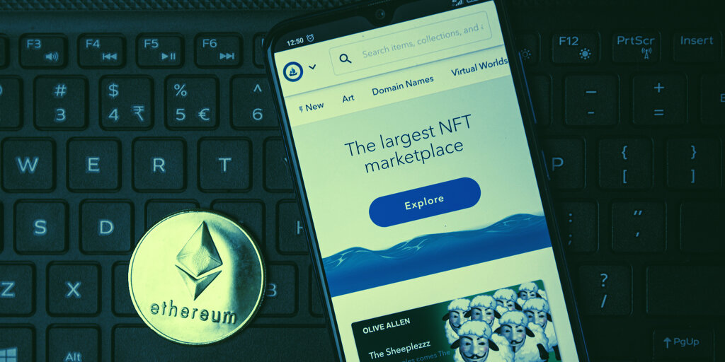 NTF Marketplace OpenSea Becomes Crypto 'Unicorn' at $1.5 Billion Valuation