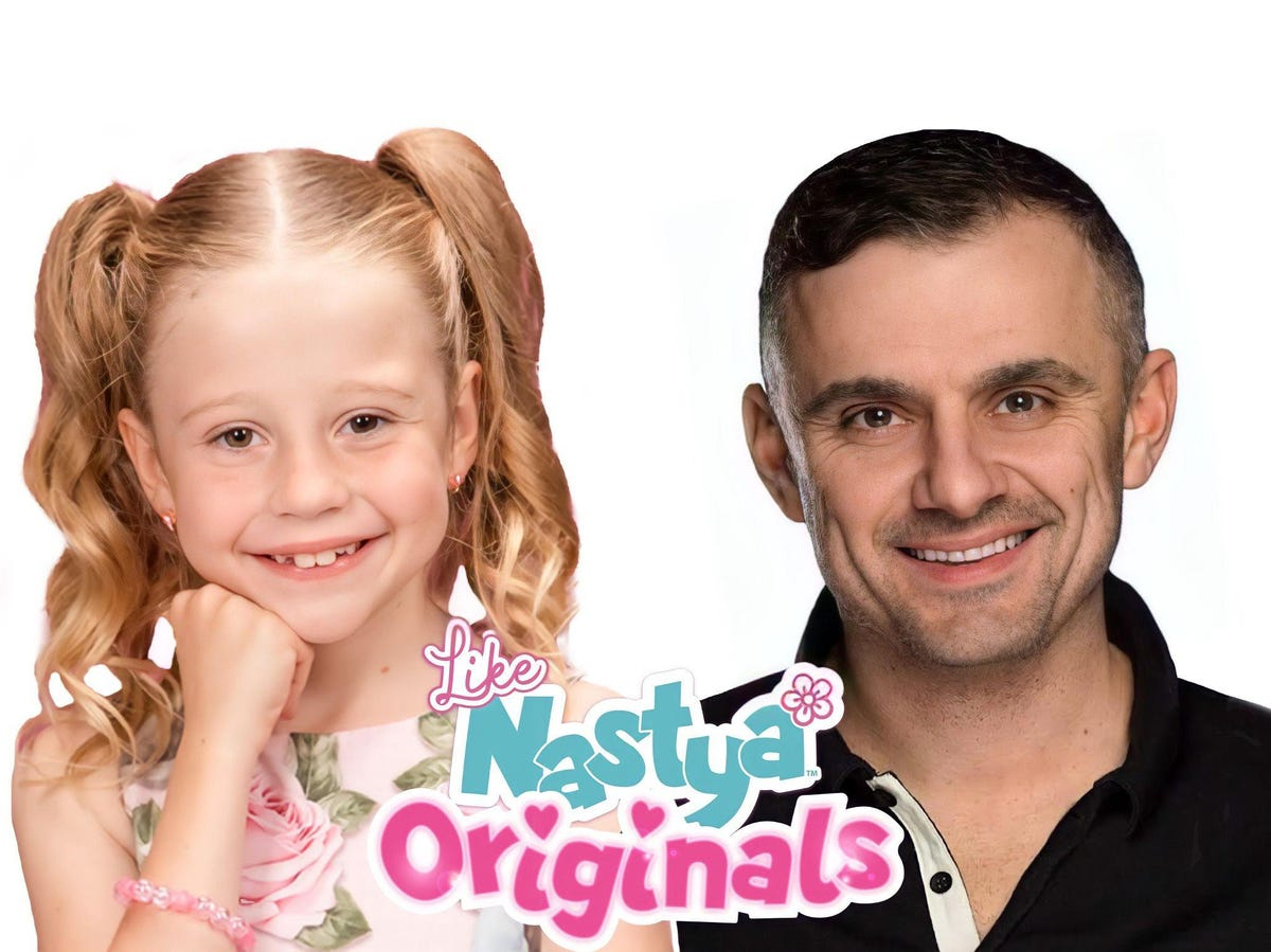 Biggest YouTuber In The World, 7-Year-Old 'Like Nastya,' Launches NFT With Gary Vaynerchuk