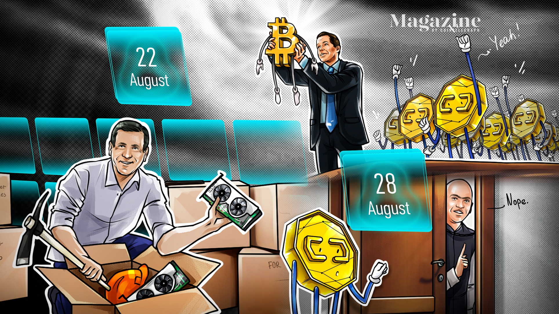 U.S. Congress submits 18 crypto bills in 2021, Visa buys $150K CryptoPunk, MicroStrategy snaps up more BTC: Hodler's Digest, Aug. 22-28