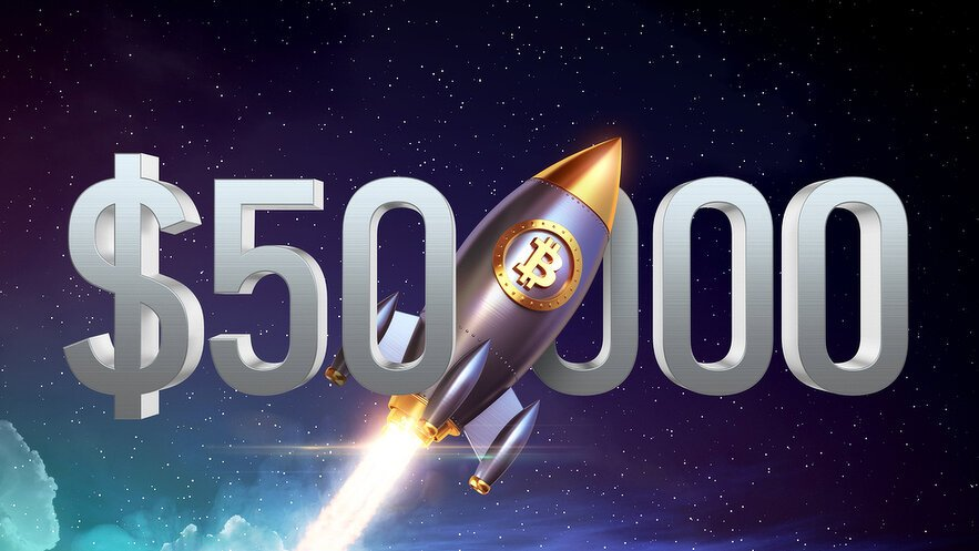 Bitcoin Tops $50,000 for First Time Since May