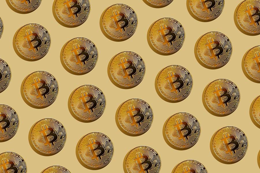 Bisq, a Bitcoin logo pattern