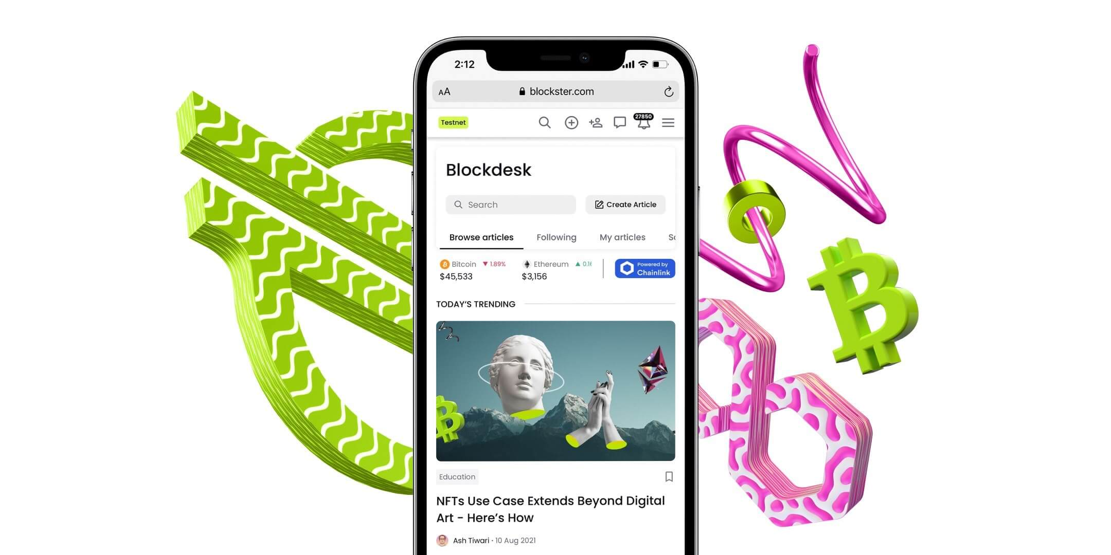Introducing Blockster: The Official Space for the Blockchain Industry