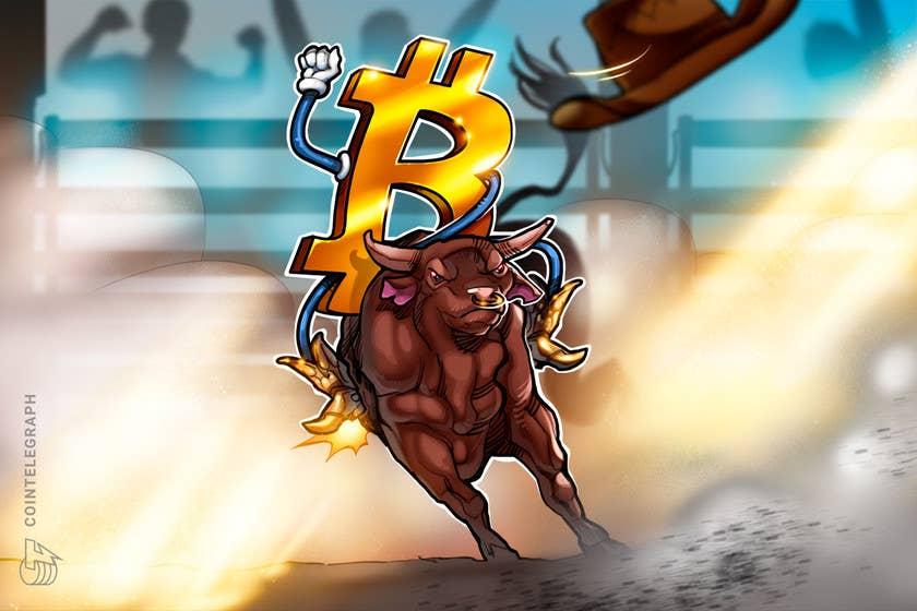 Bitcoin price pushes through $51K, extending bulls' short-term target to $56K