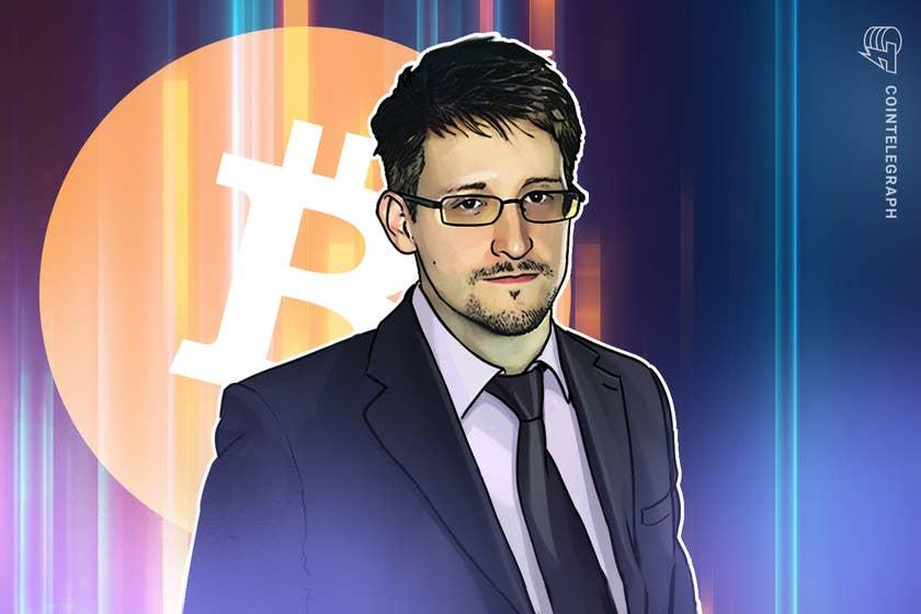 Bitcoin got stronger despite government crackdowns, says Edward Snowden