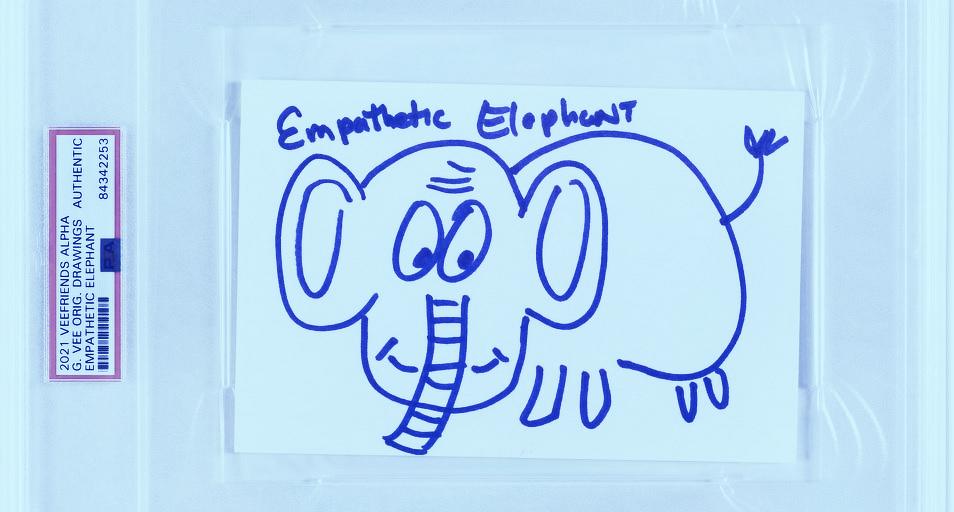 Gary Vaynerchuk Hand-Drawn VeeFriends Doodles Sell For $1.26M