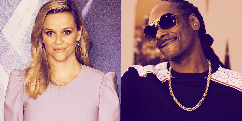 Reese Witherspoon Gets Into Ethereum NFTs, Snoop Dogg Gives Advice